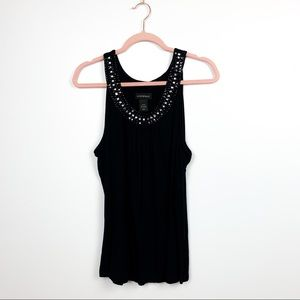 🌼2/$22🌼 Lane Bryant Tank Top with Gems in Neck